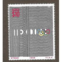 Mexico 1968 Juegos Olimpicos Alto Valor $10.00