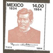 Mexico 1984 Ignacio Manuel Altamirano Artista