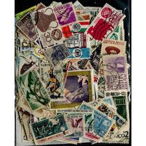 0878 México Lote 300 Sellos Usados 1899-1986