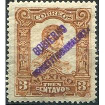 2561 Revolución Gomigrafo Monterrey 3c Usado 1914