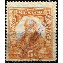 2498 Revolución Scott #314 Gomígrafo Querétaro 5c Usado 1914