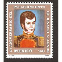 Estampilla Ignacio Allende 1996 Nueva