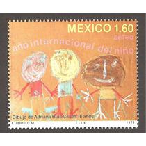 Año Intl Del Niño 1979 Pintura Dibujo Infantil