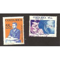Estampillas Usadas Costa Rica Jhon F Kennedy Mn4