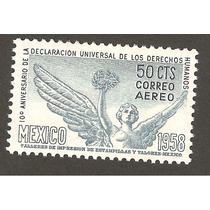 Mexico 1958 10 Aniv Derechos Humanos Mn4