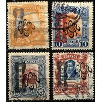 2490 Revolución Serie 1910 Moño Carranza 4 S Usados 1915