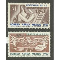 Mexico Centenario De La Constitución De 1857 Mn4