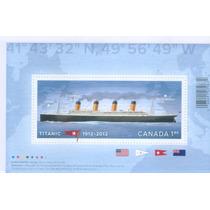 Canadá: Centenario Hundimiento Del Titanic 2012 Op4