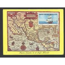 Hojita México, Cedula Real De La Nueva España Mapa Mn4