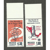 Mexico Dia Mundial De La Salud 1978 Nuevas.