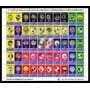 Estampilla Timbre Monedas De Mexico En Carpeta Año 2002