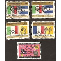 Honduras Banderas Olimpiadas Mexico 1968