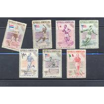 L311-república Dominicana Juegos Olímpicos 1957 Nueva Nh-hm4