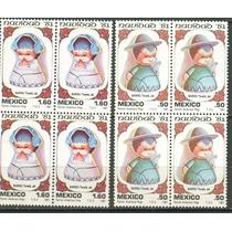 Sc 1252-1253 Año 1981 B4 Navidad