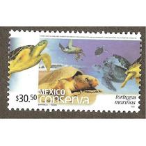 Mexico Conserva Tortugas Marinas $30.50 Fauna Vbf