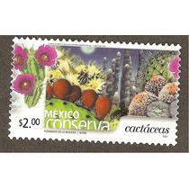 Mexico Conserva Cactaceas $2.00 Flora Vbf
