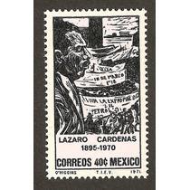 Lazaro Cardenas 1971 Estampilla Nueva