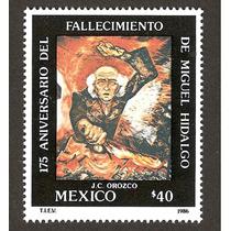 Miguel Hidalgo 1986 Pintura Diego Rivera