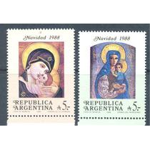 Argentina 1988 Navidad Virgen Maria Y Jesus Pinturas
