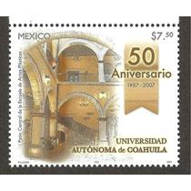 Universidad Autónoma De Coahuila 2007
