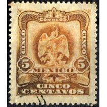 2360 Revolución Naranja Oxidado Scott#307 5c Usado 1903