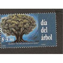 México Día Del Árbol 1999 Impresa Por Romo