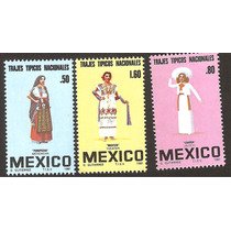 Vestidos Regionales Charra, Meztiza Y Purepecha Mnh Vbf