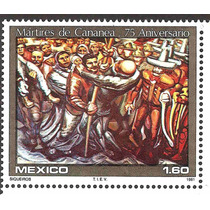 Martires De Cananea, Pintura De Siquieros, 1981 Nueva