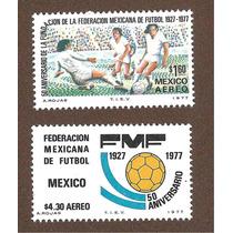 50 Años Federación Mexicana De Futbol 1977