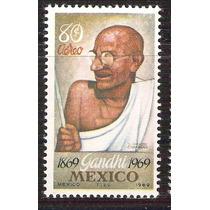 1969 Gandhi Líder Independencia De India Sello Aéreo Nuevo