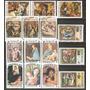 Dominica Arte Religioso Pinturas Madonas Navidad 15 Sellos