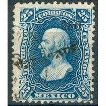 Sc 109 Año 1880 Hidalgo 25 Cent Dist 3 Veracruz No. Ariba