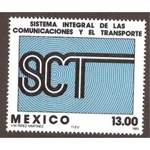 Mexico 1983 Secretaría De Comunicaciones Y Transportes Mn4