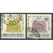 Sc C148-c149 Año 1945 Reconstruccion Del Teatro La Paz San L