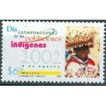 Sc 2288 Año 2002 Dia Internacional De Las Poblaciones Indige