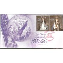 2012 Sobre 1er. Día Arte Sacro Virreinal, Monjas Coronadas