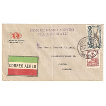 Sobre Aereo Mexico - Holanda 10 Nov 1928 Guerra Cristera
