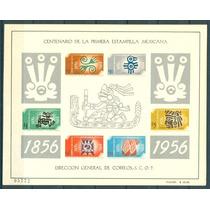 Sc 896a Año 1956 Centenario En Mex Del Primer Timbre Postal