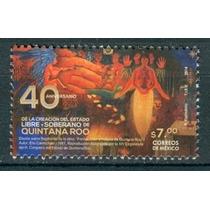 Sc () Año 2014 Quintana Roo Estado Libre Y Soberano