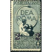 1751 Italia Scott #128 Cent Roma 2c 15c Mint N G 1913