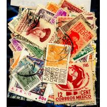 0474 México Lote 105 Sellos Usados 1899-1970