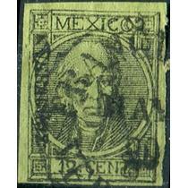 1852 Clásico Con Punto S#59 Veracruz #2 69 12c Usado