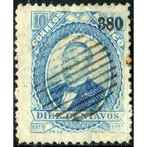 1933 Clásico Scott #126 P G Liso Veracruz #380 10c Usado