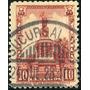 1943 México Monumentos Scott #645 Perf 12x12 10c Usado 1923