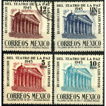 2021 México Teatro De La Paz Scott #801 Serie 3 P Usado 1945