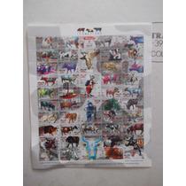 Timbres Postales,planilla México,vacas