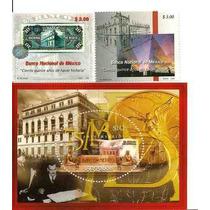 Aniversario Banco Nacional De Mexico Aniversario 3 Estampill