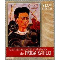 Timbres De Frida Kahlo ( Mexico- Estados Unidos )
