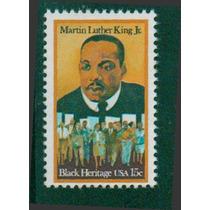 Timbre De Martin Luther King Jr. ( Estados Unidos )