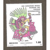 Mexico Congreso De Cirujanos Xipe Prehispanico